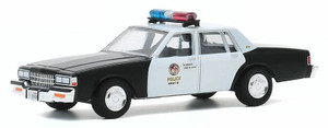 Greenlight 1/64 1987 Chevrolet Caprice Metropolitan Police - Terminator 2 Judgement Day 1991