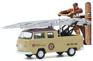 Greenlight 1/64 1972 Volkswagen Type 2 Double Cab