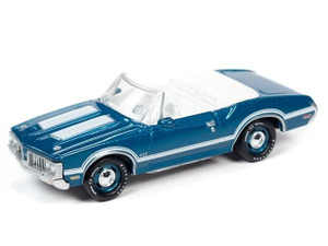 Johnny Lighting Johnny Lighting 1/64 1970 Oldsmobile 442 Convertible Agean Aqua