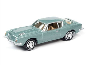 Johnny Lighting Johnny Lighting 1/64 1963 Studebaker Avanti Seaspray Green