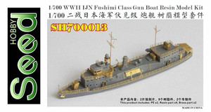 Five Star Models 1/700 Seed Hobby WWII IJN Fushimi Class Gun Boat Resin Model