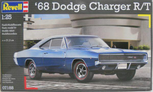 Revell 1/25 Revel 68 Dodge Charger R/T