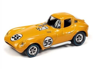 Johhny Lightning 1/64 Johhny Lightning Cheetah Spoilers Metallic Yellow-Orange
