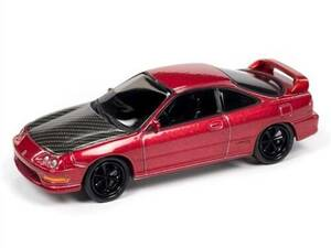 Johhny Lightning 1/64 Johhny Lightning 1997 Acura Integra Import Heat Pearl Red