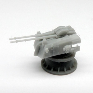 Black Cat Models 1/350 Black Cat Models SK C/33 TWIN 10.5CM GUN ON DOPPLC/31 D MOUNT X2