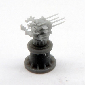 Black Cat Models 1/350 Black Cat Models 2CM FLAK C 38 VIERLING MOUNT U-BOAT VERSION X4