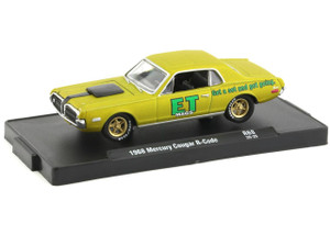 M2 Machines 1/64 M2 Drivers 68 1968 Mercury Cougar R-Code