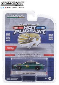 Greenlight 1/64 Greenlight Hot Pursuit Series 36 - 2018 Dodge Charger - New Hampshire State Police Solid Pack