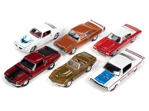Johnny Lightning 1/64 Johnny Lightning Muscle Cars 2020 Release 3B - 6-Piece Set