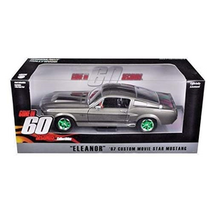 Greenlight 1/24 Scale Diecast 18220 Eleanor 1967 Custom Shelby GT500 - GREEN MACHINE