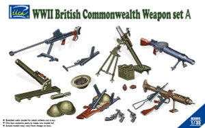 Riich Models 1/35 Scale WWII British Commonwealth Weapon Set A