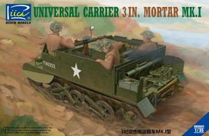 Riich Models 1/35 Scale Universal Carrier 3 In. Mortar Mk.1