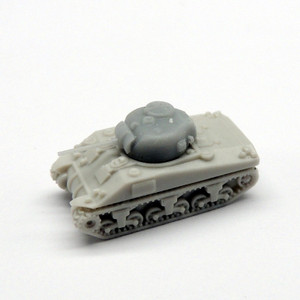 Black Cat Models 1/350 Scale Sherman M4 (X4)
