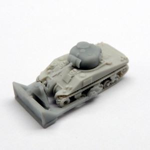 Black Cat Models 1/350 Scale Sherman Dozer M4 Tank (X2)