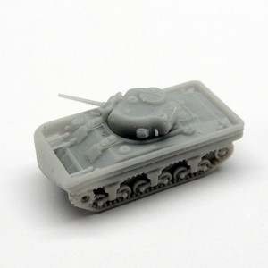 Black Cat Models 1/350 Scale Sherman M4 Dd Tank (X4)