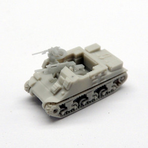 Black Cat Models 1/350 Scale M-7 Priest 105Mm Self Propelled Gun (X4)