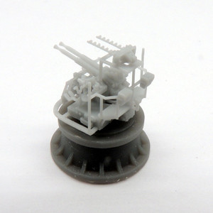 Black Cat Models 1/350 Scale Twin 40Mm Bofors Mk.Iv On Hazemeyer Mounting (X2)
