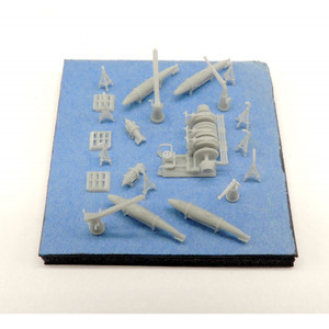 Black Cat Models 1/350 Scale Royal Navy Wwii Minesweeping Gear
