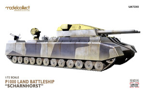 ModelCollect 1/72 Scale German WWII P.1000 ratte scharnhorst,1945