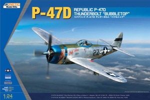 Kinetic Models 1/24 Scale P-47D Thunderbolt Bubbletop