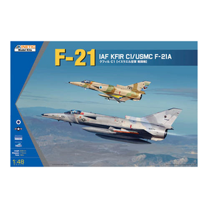 Kinetic Models 1/48 Scale Iaf Kfir C1 / Usmc F-21A