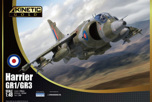 Kinetic Models 1/48 Scale Harrier Gr1/Gr3