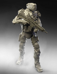 Green Strawberry 1/20 Scale R.U.R (Recon Unit-Robot)