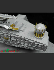 Green Strawberry 1/2700 Scale Star Destroyer - Fruit Pack