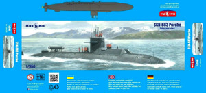 MikroMir 1/350 Scale SSN-683 Parche (late version)