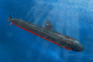 Hobby Boss 1/350 Scale Los Angeles Class Ssn-688/Vls/688I *3 In 1*