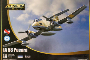 Kinetic Models 1/48 Scale IA 58 Pucara