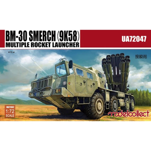 ModelCollect 1/72 Scale BM-30 Smerch (9K58) Multiple Rocket Launcher