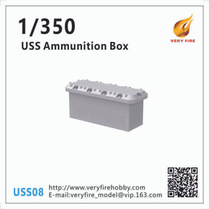 Very Fire 1/350 Scale USS Resin Ammunition Box (30 Sets)
