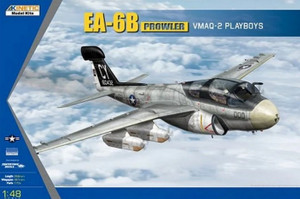 Kinetic Models 1/48 Scale EA-6B Prowler VMAQ-2 Playboys (with NC-2A EPU Tractor)