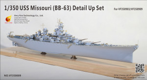 Very Fire/ Blue Ridge 1/350 Scale USS Missouri Detail Up Set(For VeryFire)