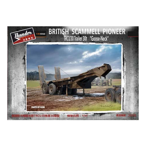 Thunder Model 1/35 Scammell Late Goose Neck Trailer