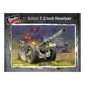 Thunder Model 1/35 British 7.2 Inch Howitzer