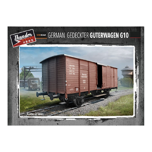 Thunder Model 1/35 German Gedeckter Guterwagen G10