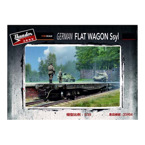 Thunder Model 1/35 German Flat Wagon Ssyl