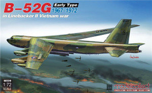 ModelCollect 1/72 Scale B-52G Early Type in Linebacker II Vietnam War