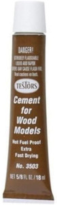 Testors Extra Fast-Drying Wood Cement 5/8 oz