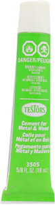 Testors Cement for Metal and Wood 5/8 oz