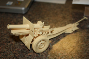 Commander Models 1/35 Scale M1917A4 155mm Howitzer