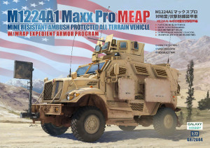 Galaxy Hobby 1/72 Scale M1224A1 Maxx Pro MEAP with MRAP Expedient Armor Program