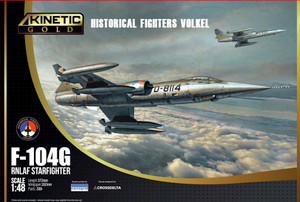 Kinetic Models 1/48 Scale F-104G RNLAF Starfighter
