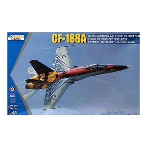Kinetic Models 1/48 Scale CF-188A RCAF 20 Years Services