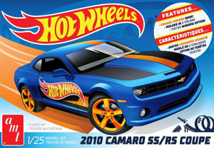 AMT Models 1/25 Scale Hot Wheels 2010 Camaro SS/RS Coupe