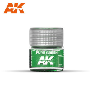 AK Interactive Real Colors - Pure Green 10ml