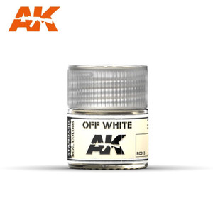 AK Interactive Real Colors - Off White 10ml