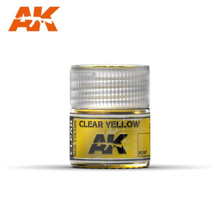 AK Interactive Real Colors - Clear Yellow 10ml